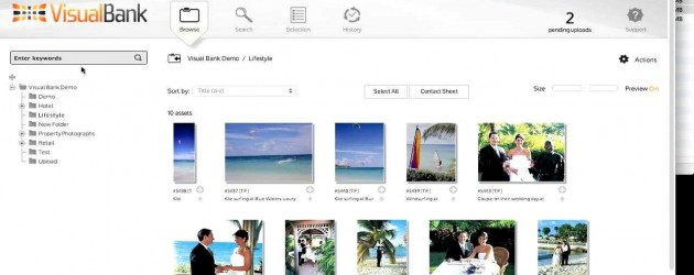 Visual Bank Uploading